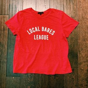 PACSUN LOCAL BABES T-Shirt